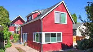 tiny house for backyard a seattle backyard cottage for empty nesters microhouse tiny