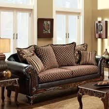 Patterned Loveseats Faux Leather Patterned Loveseats You U0027ll Love Wayfair