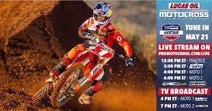 motocross races in california lucas oil pro motocross nbc sports mavtv to televise 60 hours of