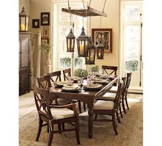 dining room exciting bevolo lighting with dark wood dining table