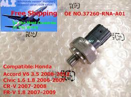 5 pcs genuine new spool valve switch sensor 37260 rna a01for honda