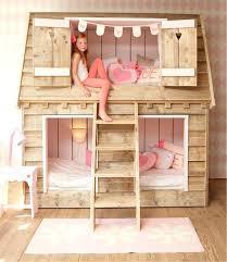 cabane enfant chambre lit fille cabane chambre enfant en lit cabane fille rideau