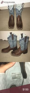 womens size 11 square toe cowboy boots square toe womens ariat quickdraw boots size 7b 11 sapphire blue