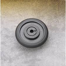 parts unlimited black idler wheel w bearing 0411675 snowmobile