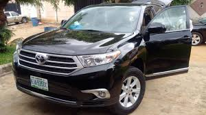 toyota highlander 2012 used used toyota highlander 2012 for 4 5m adex autos 08039226528