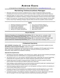 Resume Format Latest Pdf by Splendid Marketing And Communications Resume New Grad Entry Level