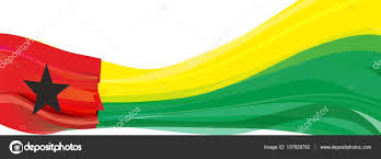 Flag Black Red Yellow Red Yellow Green With A Black Star Flag Of The Republic Of Guinea