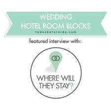 wedding room blocks hotel wedding room blocks featuring melanie marconi of