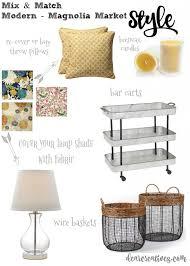 easy diy home decor mix u0026 match modern magnolia style