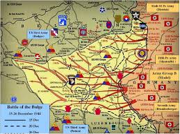 Post Ww2 Map Following The 10th Armored 10 A Serious Affair Indeed