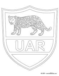 argentina rugby team uar coloring pages hellokids com
