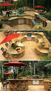 Best  Outdoor Kitchen Design Ideas On Pinterest Outdoor - Backyard kitchen design