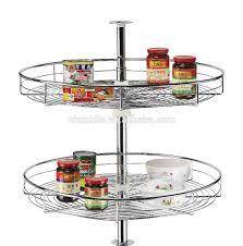 Kitchen Cabinets Baskets by 270 Degree Kitchen Cabinet Magic Corner Revolving Basket Buy