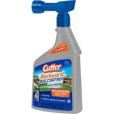 cutter 32 fl oz concentrate backyard bug control spray hg 61067