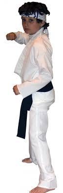 karate kid skeleton costume 80s karate kid costume