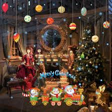 Christmas Decoration For Home by Online Get Cheap Small Window Stickers Aliexpress Com Alibaba Group