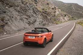 range rover convertible 7 reasons the range rover evoque convertible is the drop top suv