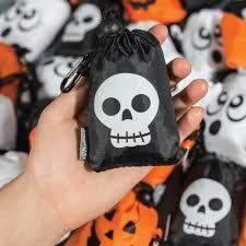 chicobag halloween bag jack o lantern themed reusable shopping bag