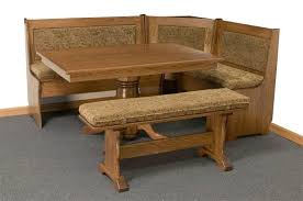 kitchen nook furniture set traditional corner breakfast nook set from dutchcrafters amish