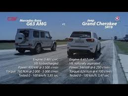 jeep grand mercedes mercedes g63 amg vs jeep grand srt8 drag race