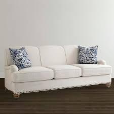 hgtv home design studio at bassett essex classic style sofa living room furniture bassett furniture