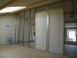 comment poser une porte de chambre comment poser une ossature de cloison