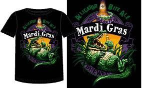 mardi gras t shirt mardi gras gator t shirt
