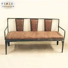 Country Style Sofa by Country Style Retro Industrial Loft Bar Iron Pipes Old Sofa Chair