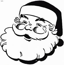 the most amazing as well as interesting santa face coloring page
