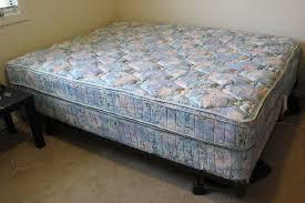 queen size mattress set cherry victorian eastlake antique bedroom