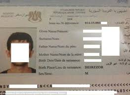 Indiana travel docs images Isis have created an entire fake passport 39 industry 39 with stolen jpg