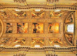 Church Ceilings The Amazing Ceilings Of Churches In Rome Ufunk Net