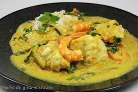 cuisiner la lotte marmiton lotte au curry et effilochée de légumes péché de gourmandise