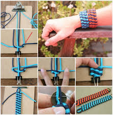 woven bracelet tutorials images Woven bracelet tutorial pictures photos and images for facebook jpg