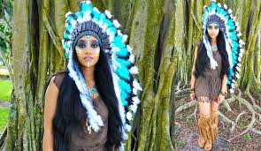 sioux city halloween costumes last minute diy halloween costume tribal native princess hair