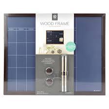 target black friday sale calender ubrands wood frame blue chalk calendar board 16