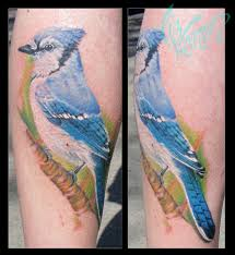 blue jay tattoo shoulder dre ta2 ink pinterest blue jay tattoo by