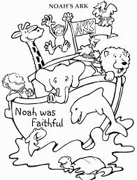 biblical coloring pages for toddlers noahs ark coloring pages coloring pages pinterest sunday