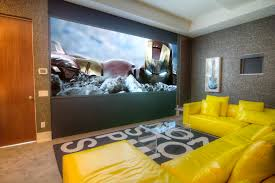 captivating design of cool home theater rooms designed by