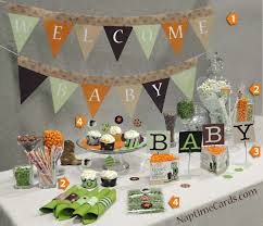 Easy Baby Shower Decorations Decorations Camo Baby Shower Decorations Party City Baby Shower