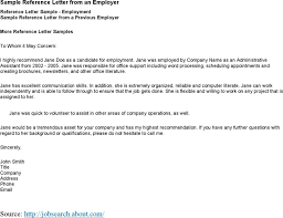 sample college recommendation recommendation letter for student from employer best template