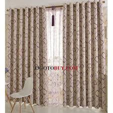 Simple Printed Geometric Pattern Kids Curtain Of Room Darkening - Room darkening curtains for kids