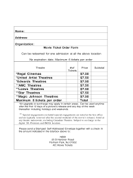 free downloadable raffle ticket templates free sponsor form template