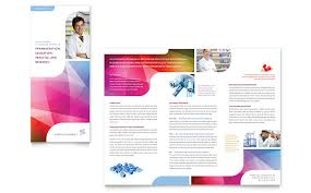 brochure design templates for education pharmacy school tri fold brochure template word publisher