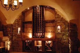 rustic wine cellar in long grove baroque design