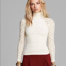 48 off free people tops free people rib and lace turtleneck