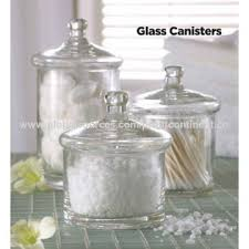 china s 3 clear glass bath stuff canisters from xi u0027an wholesaler