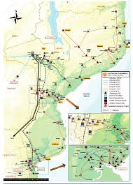Mozambique Map Energy Sector U2013 Recp