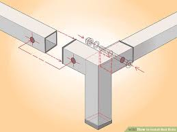 Metal Frame For Bed How To Install Bed Bolts 9 Steps With Pictures Wikihow