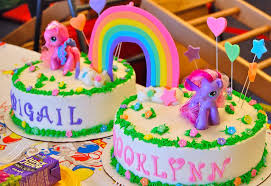 my pony birthday cake ideas my pony cake with cake toppers search twinless
